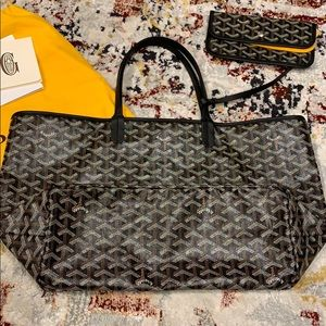 Authentic Goyard PM Tote with Pouch